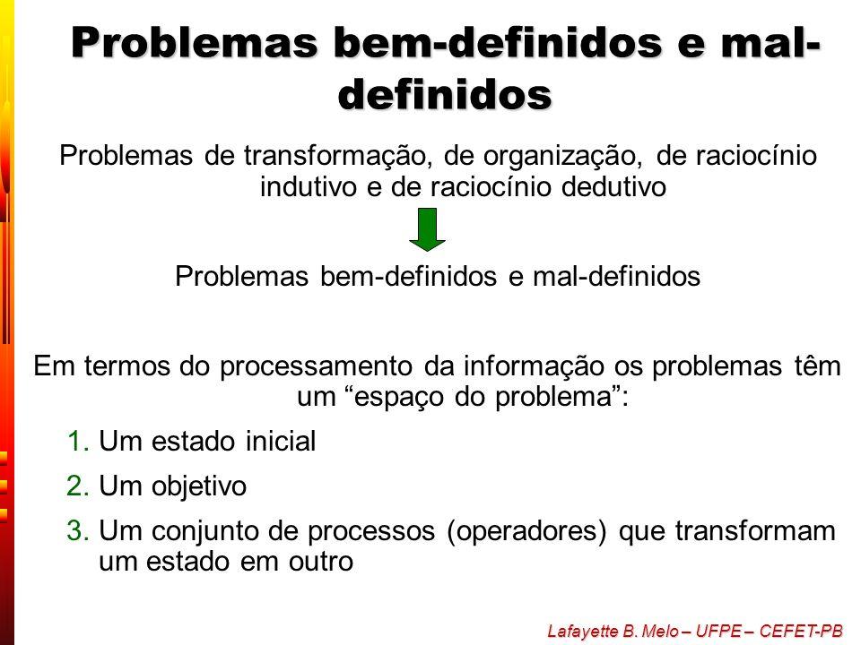 Problemas bem-definidos e mal-definidos