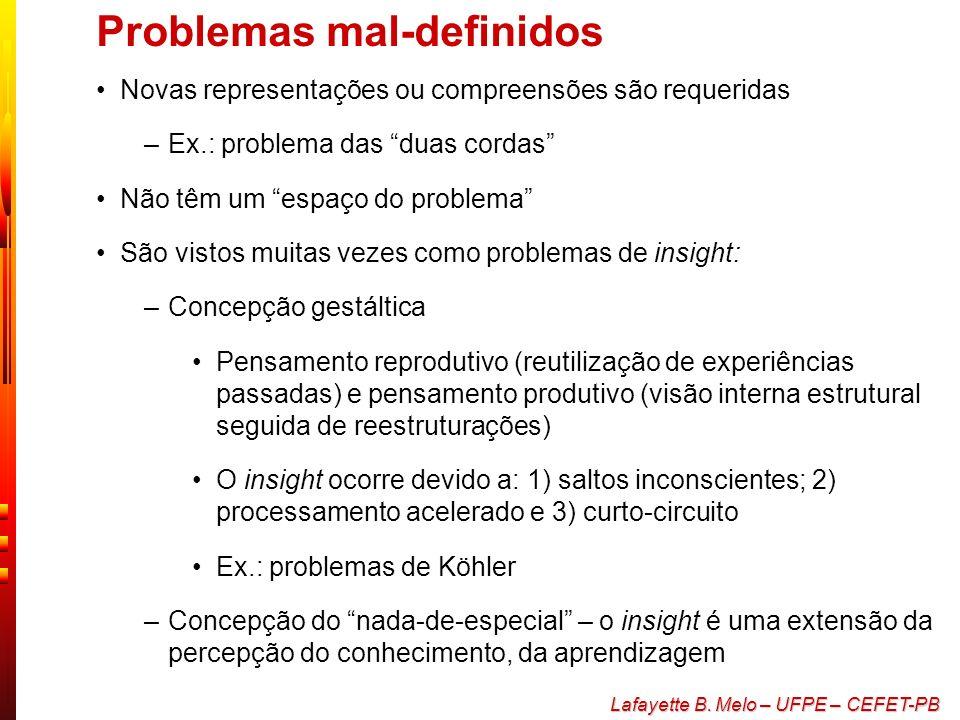Problemas mal-definidos