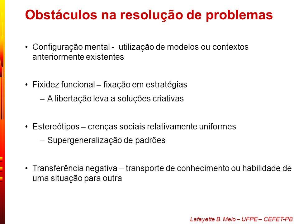Obstáculos na resolução de problemas