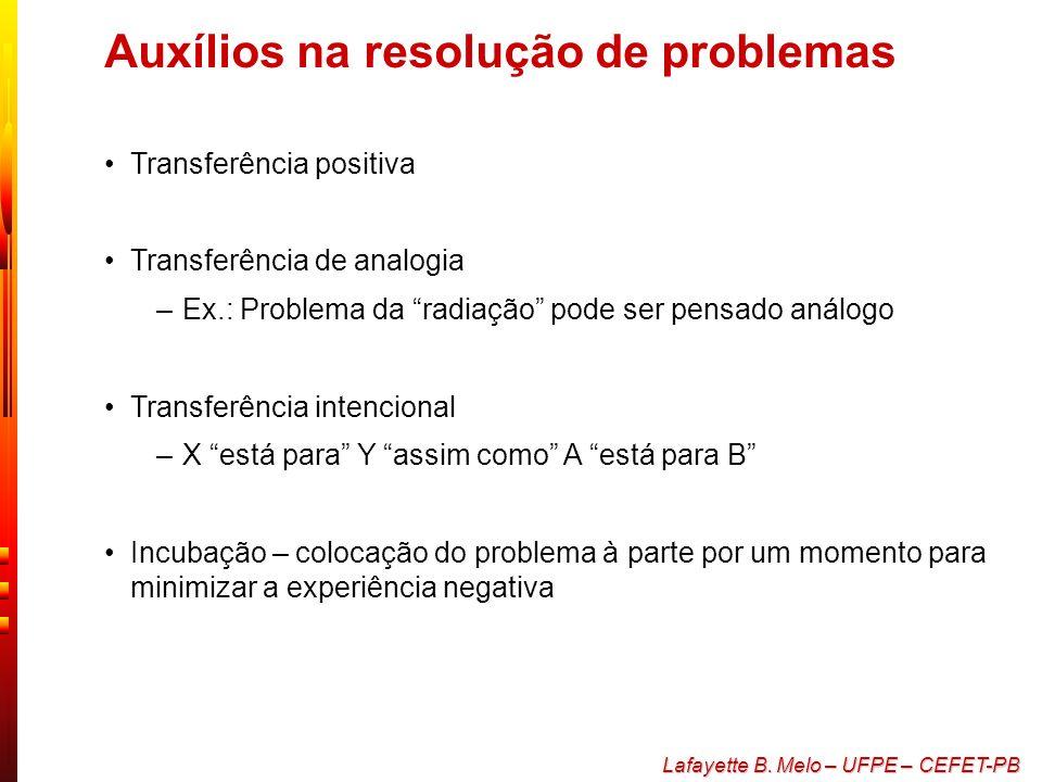 Auxílios na resolução de problemas