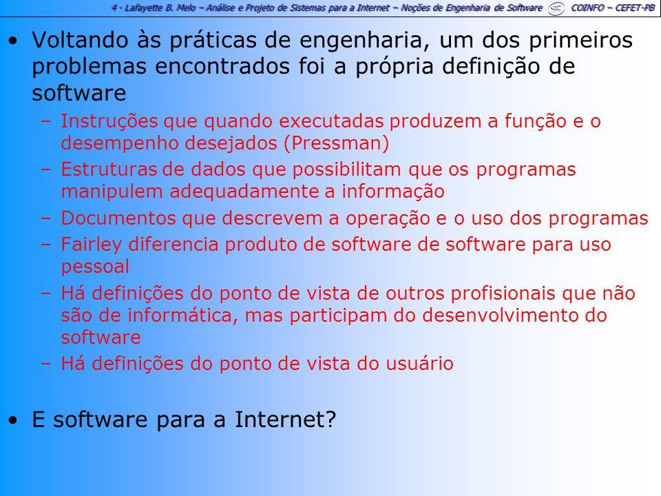 E software para a Internet