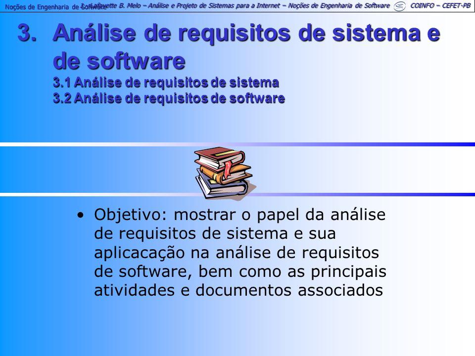 Noções de Engenharia de Software