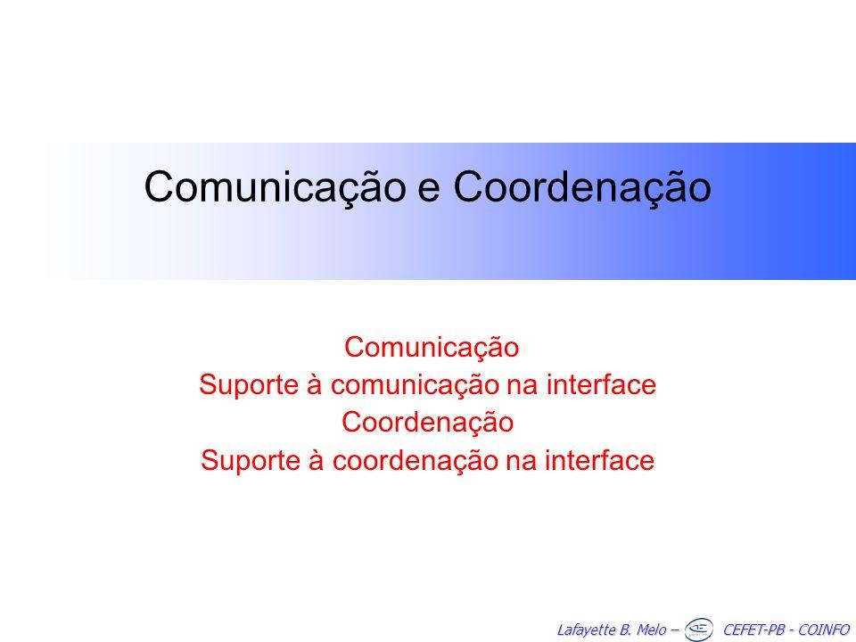 Comunicação e Coordenação