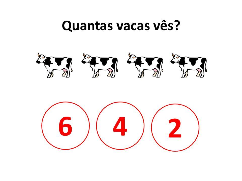 Quantas vacas vês 6 4 2