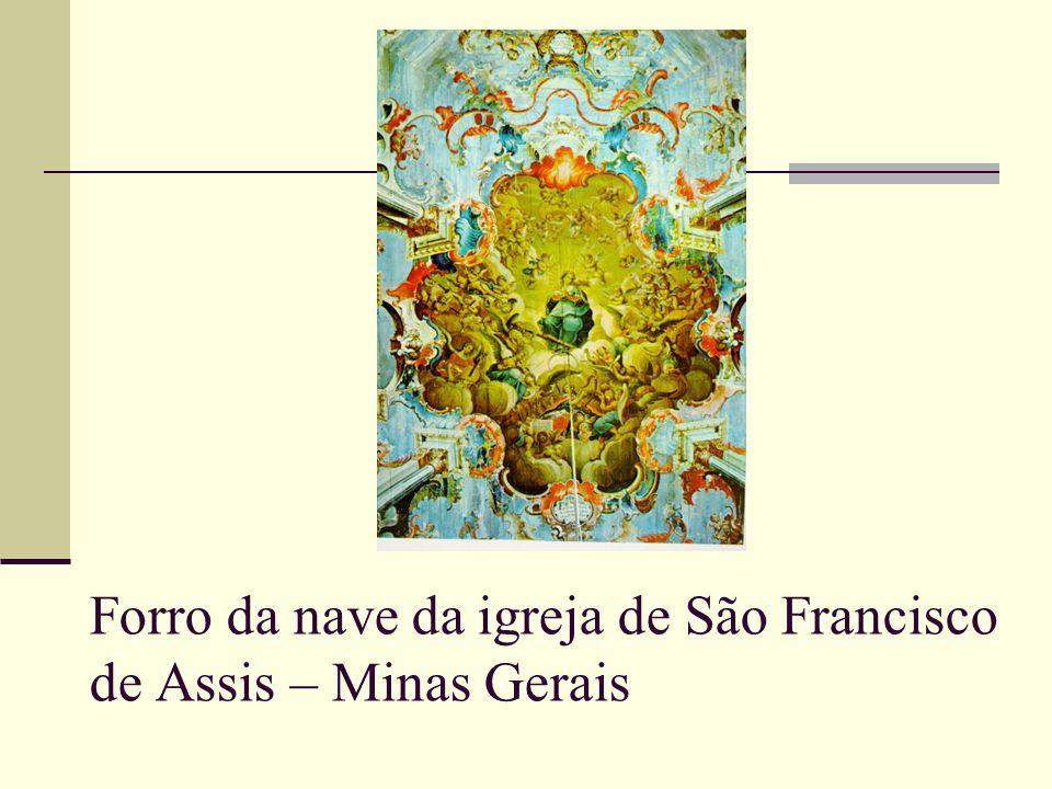 Forro da nave da igreja de São Francisco de Assis – Minas Gerais