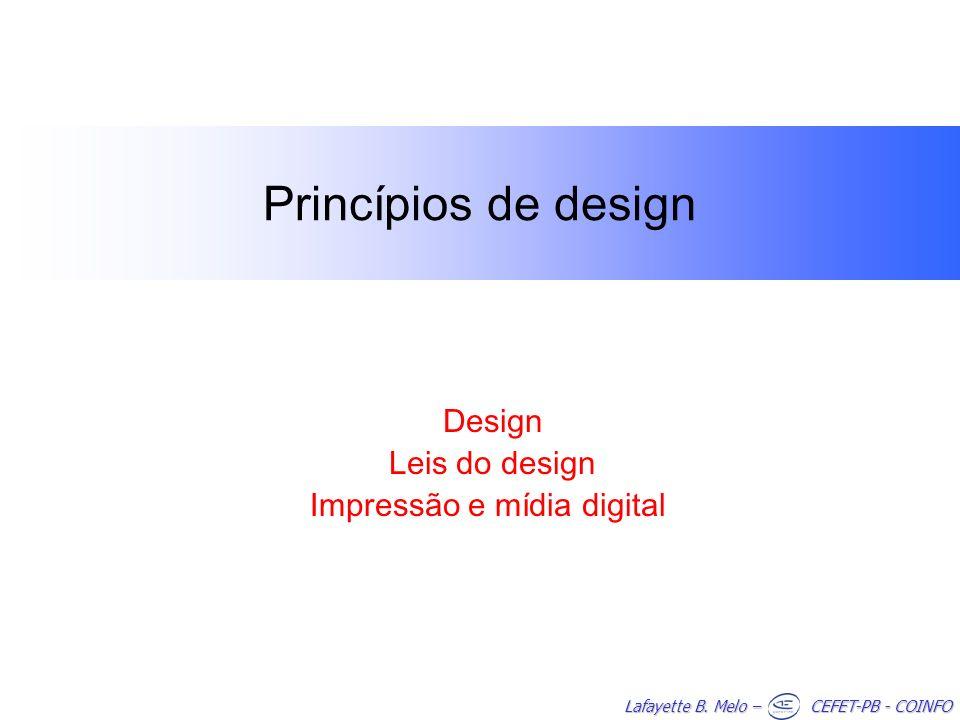 Design Leis do design Impressão e mídia digital