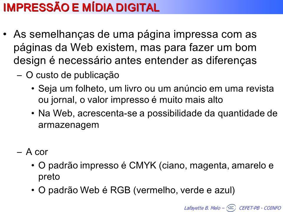 IMPRESSÃO E MÍDIA DIGITAL