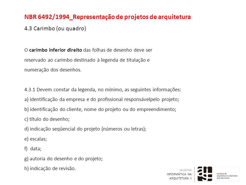 NBR 6492/1994_Representação de projetos de arquitetura 4