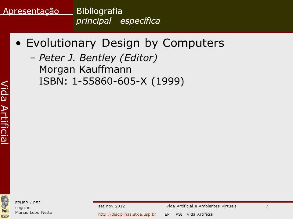 Bibliografia principal - específica
