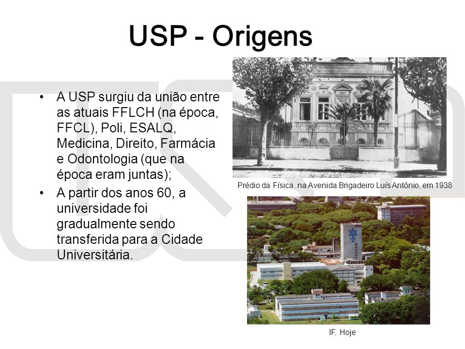 USP - Origens