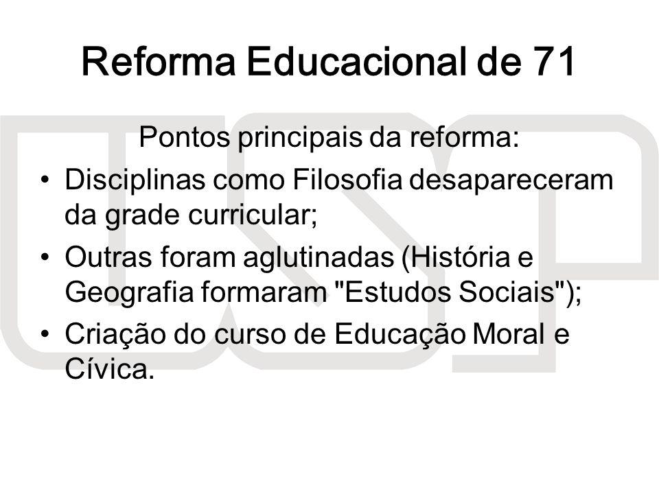 Reforma Educacional de 71