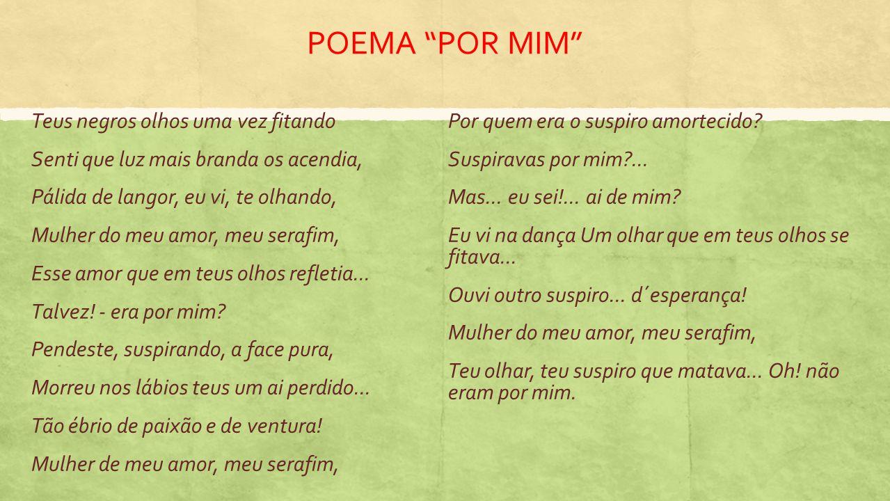 POESIA ROMÂNTICA BRASILEIRA E JOSÉ DE ALENCAR