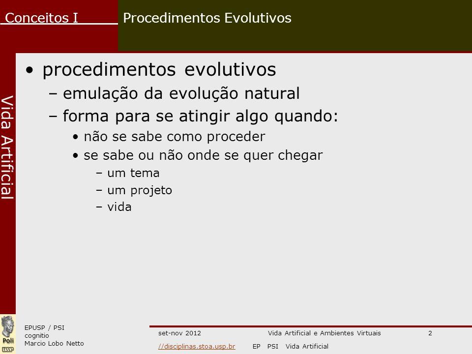 Procedimentos Evolutivos
