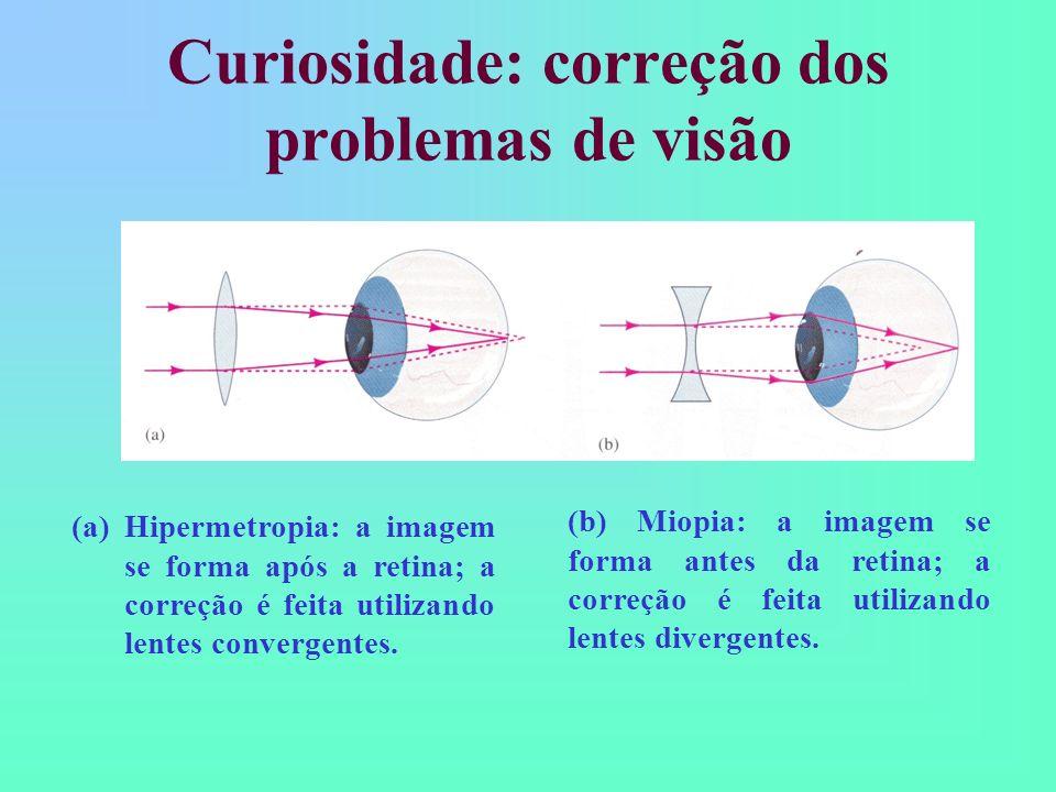 Curiosidade: correção dos problemas de visão