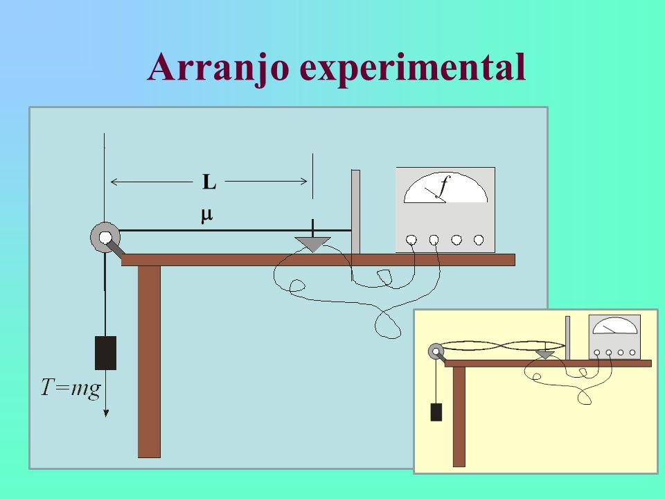 Arranjo experimental m L