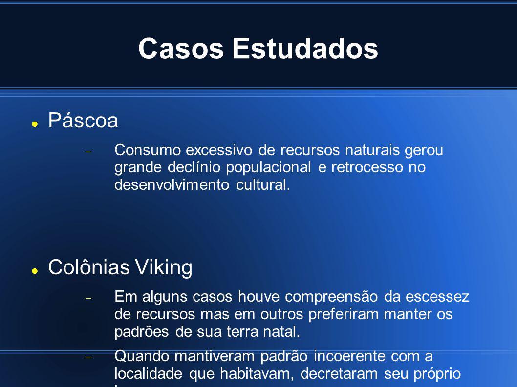 Casos Estudados Páscoa Colônias Viking