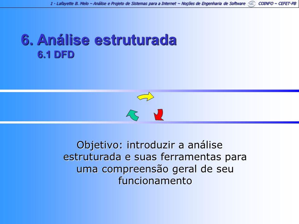 6. Análise estruturada 6.1 DFD