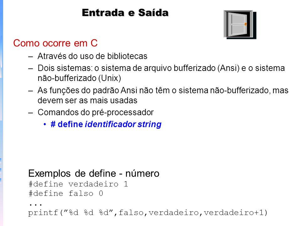 Exemplos de define - número