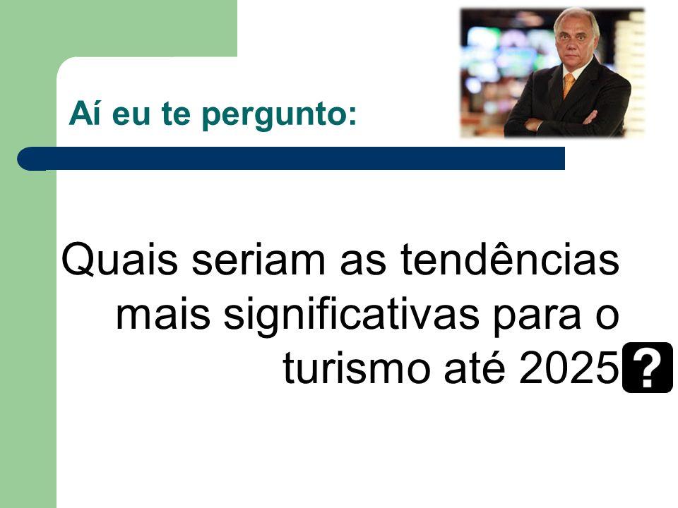 Quais seriam as tendências mais significativas para o turismo até 2025