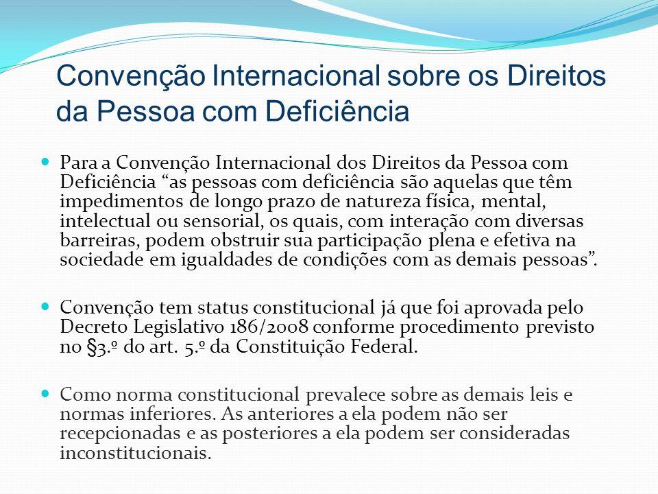 Convenção Internacional sobre os Direitos da Pessoa com Deficiência