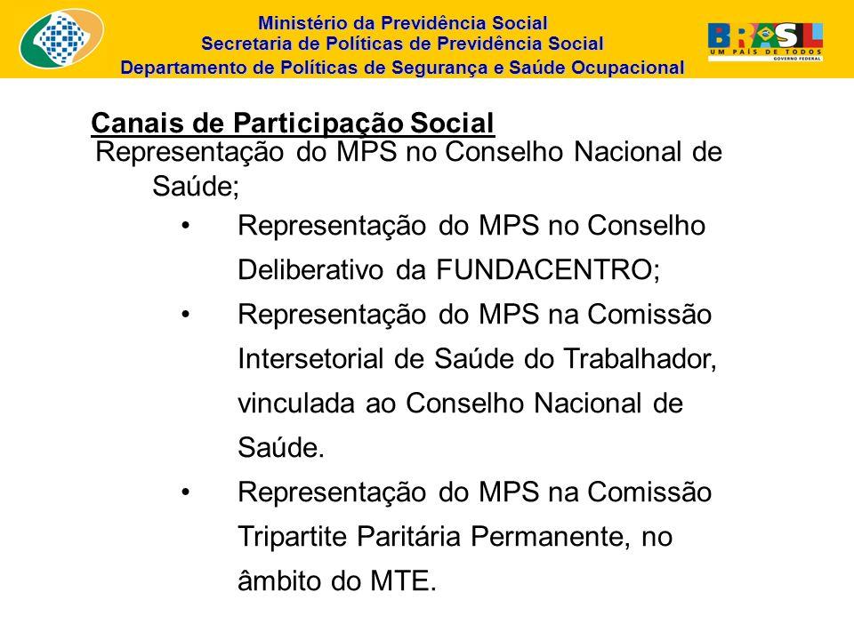 Canais de Participação Social