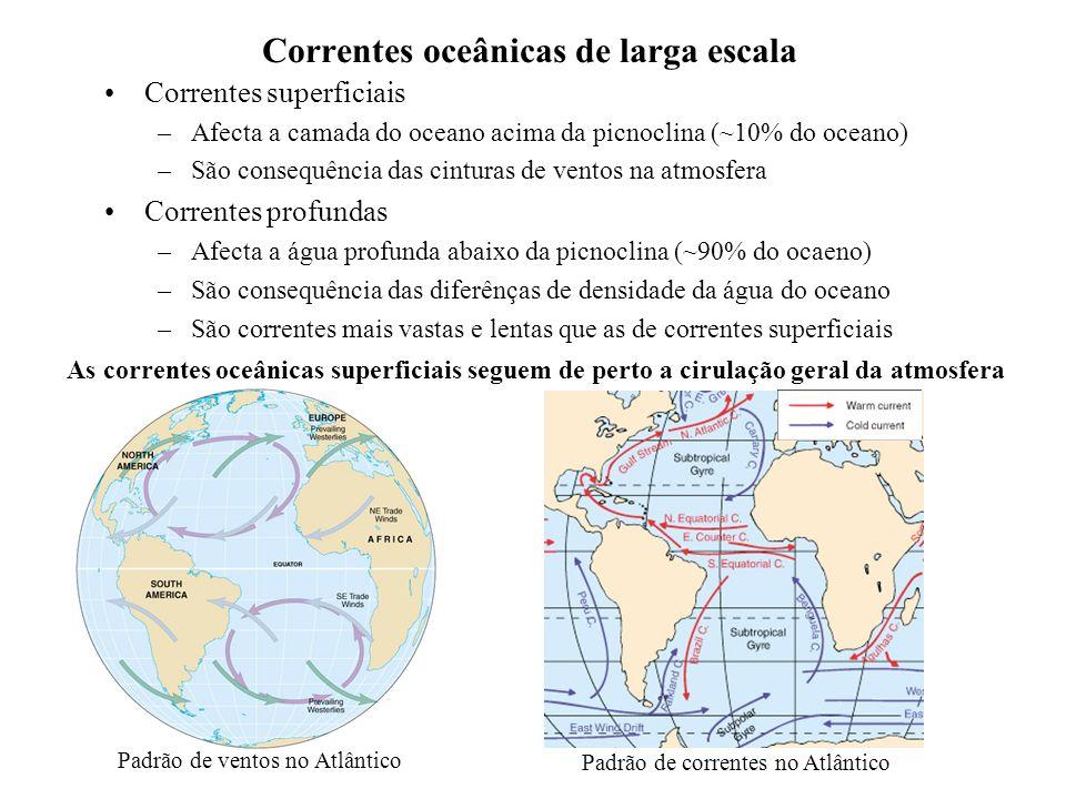 Correntes oceânicas de larga escala