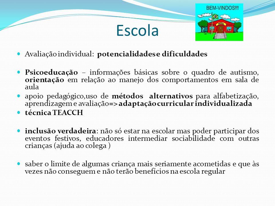 Escola Avaliação individual: potencialidades e dificuldades