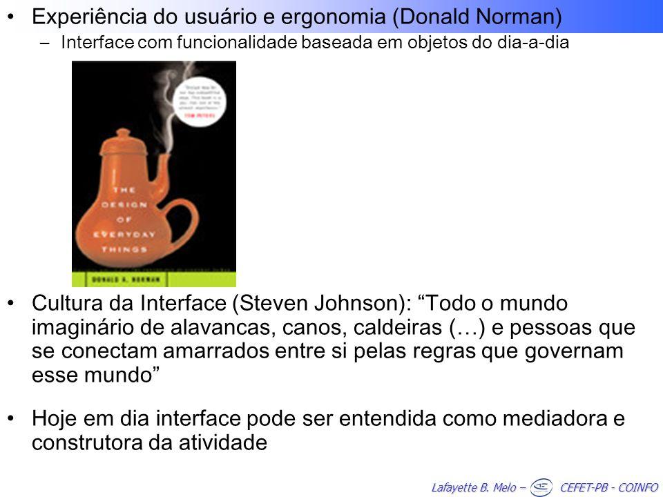 Experiência do usuário e ergonomia (Donald Norman)