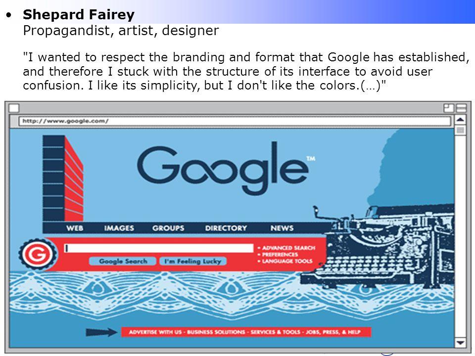 Shepard Fairey Propagandist, artist, designer