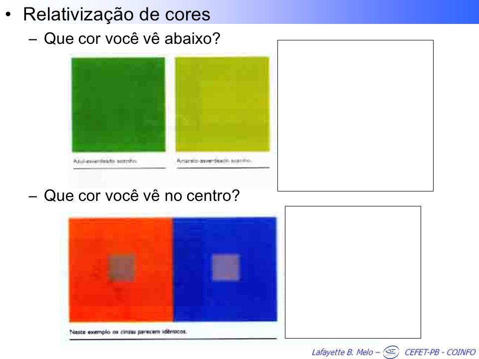 Relativização de cores