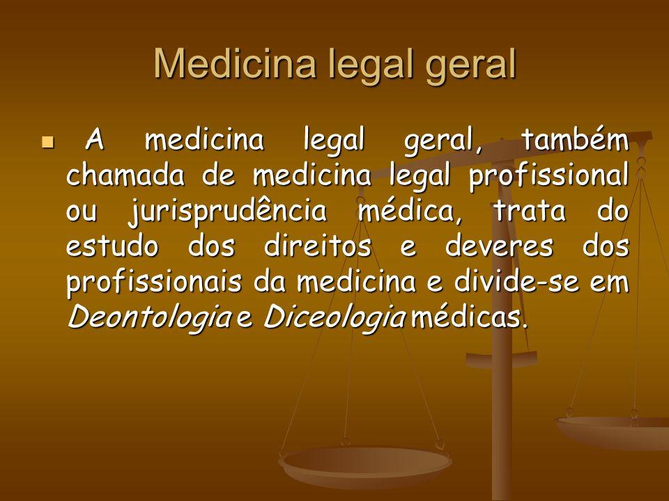 Medicina legal geral