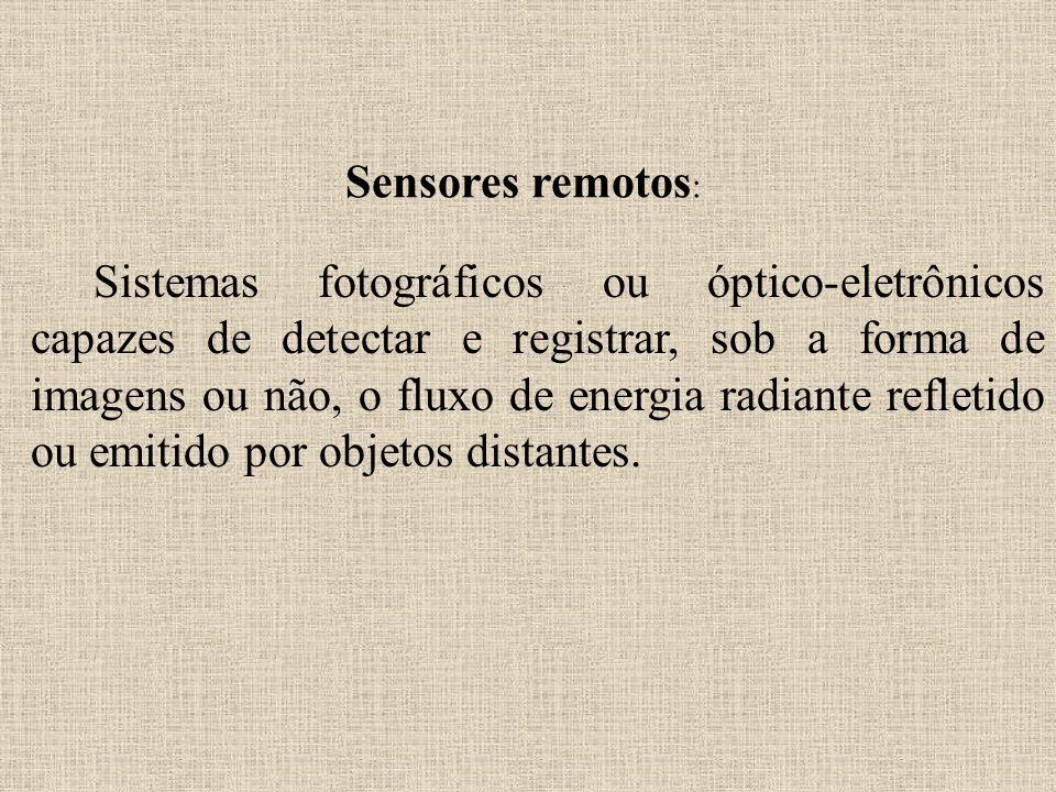Sensores remotos: