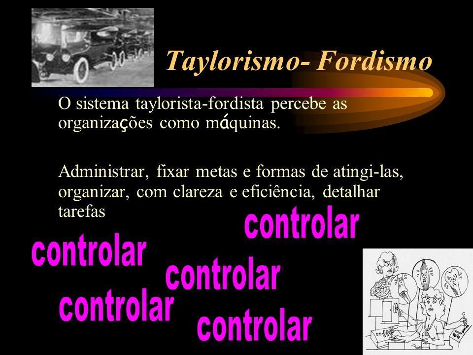Taylorismo- Fordismo controlar controlar controlar controlar controlar
