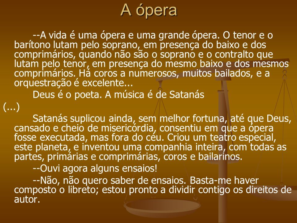 A ópera