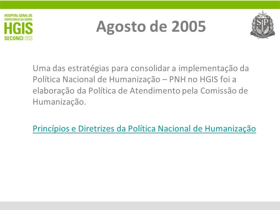 Agosto de 2005
