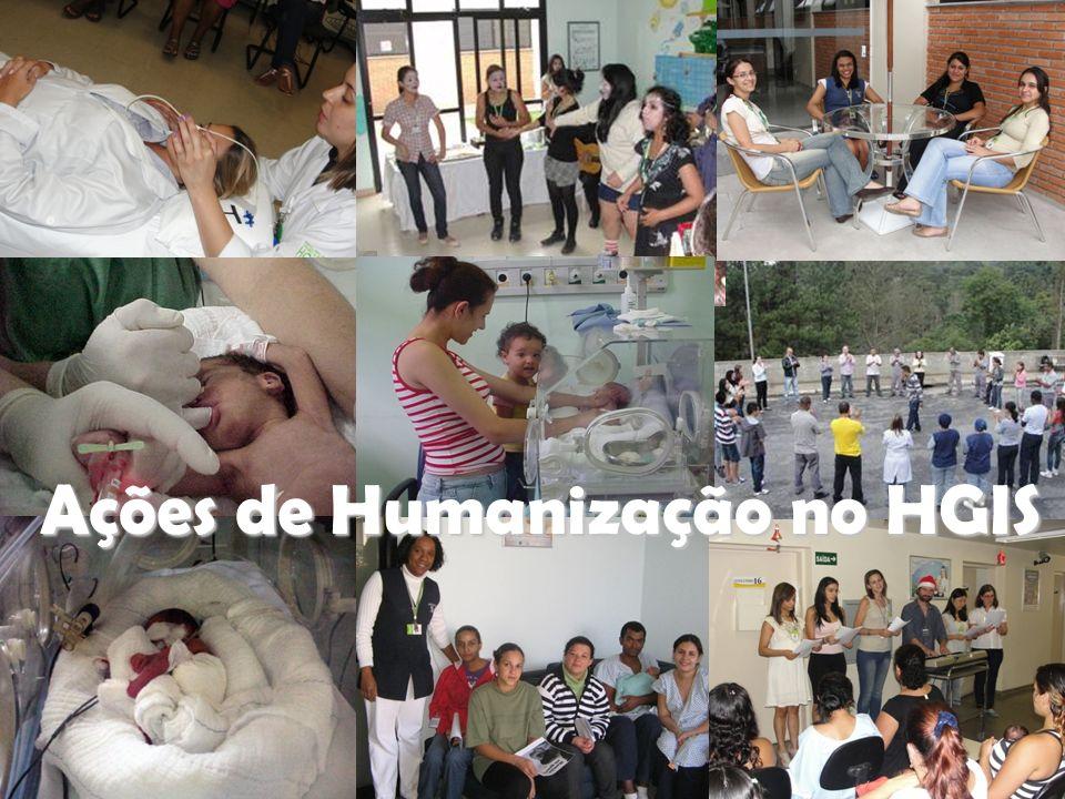 Ações de Humanização no HGIS