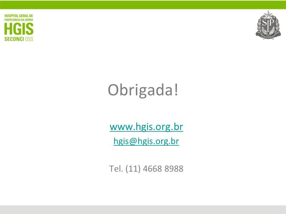 www.hgis.org.br hgis@hgis.org.br Tel. (11) 4668 8988