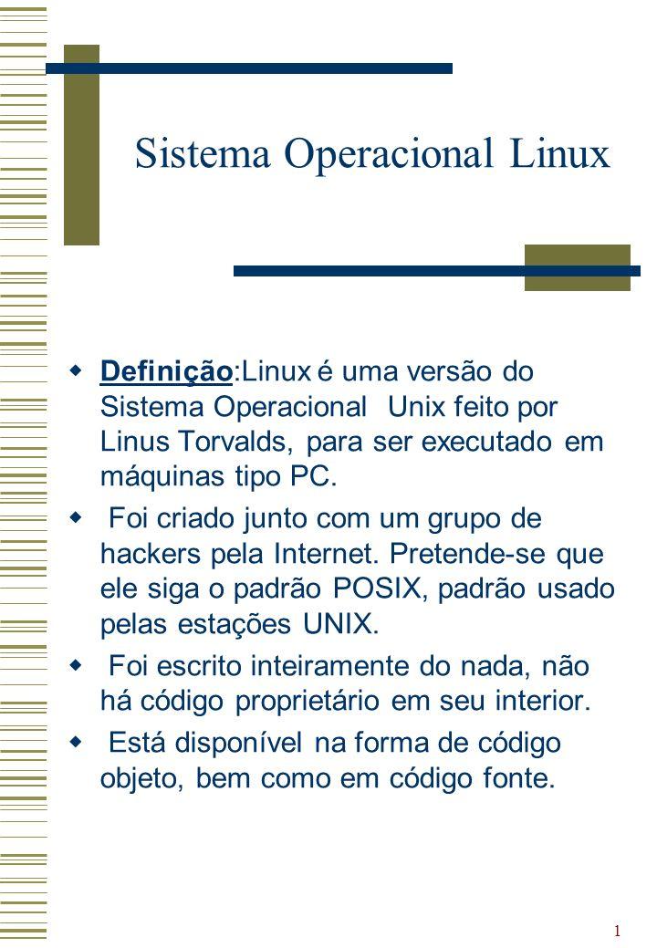 Sistema Operacional Linux