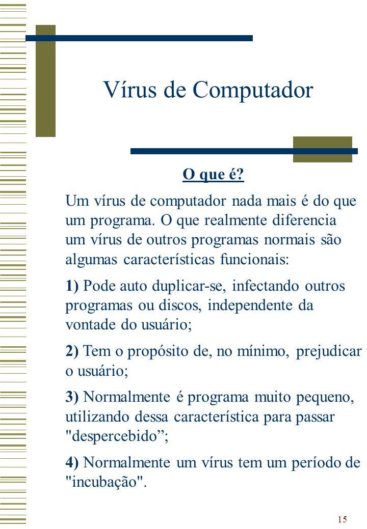 Vírus de Computador O que é