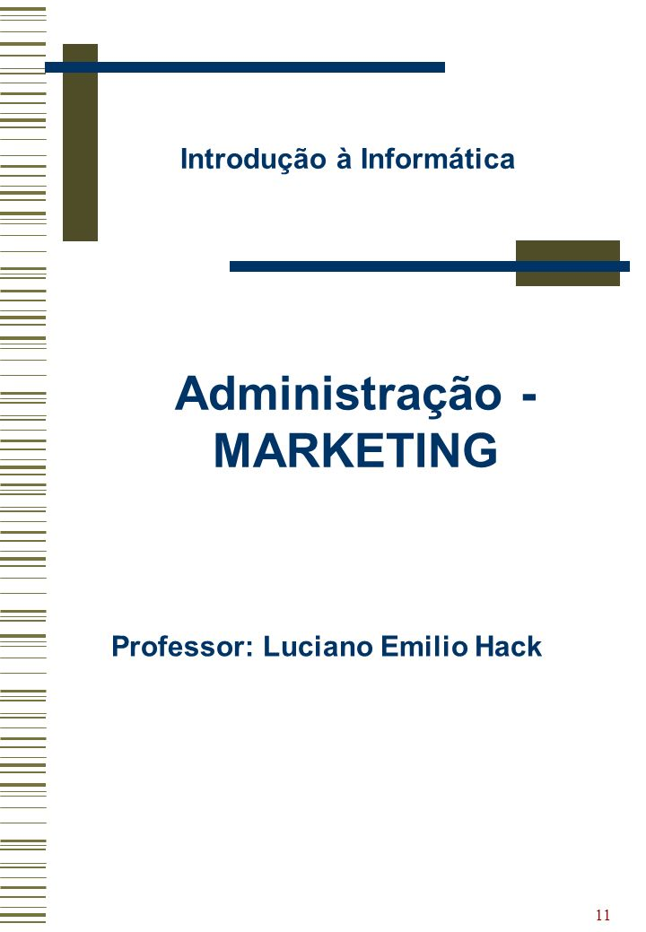 Administração - MARKETING