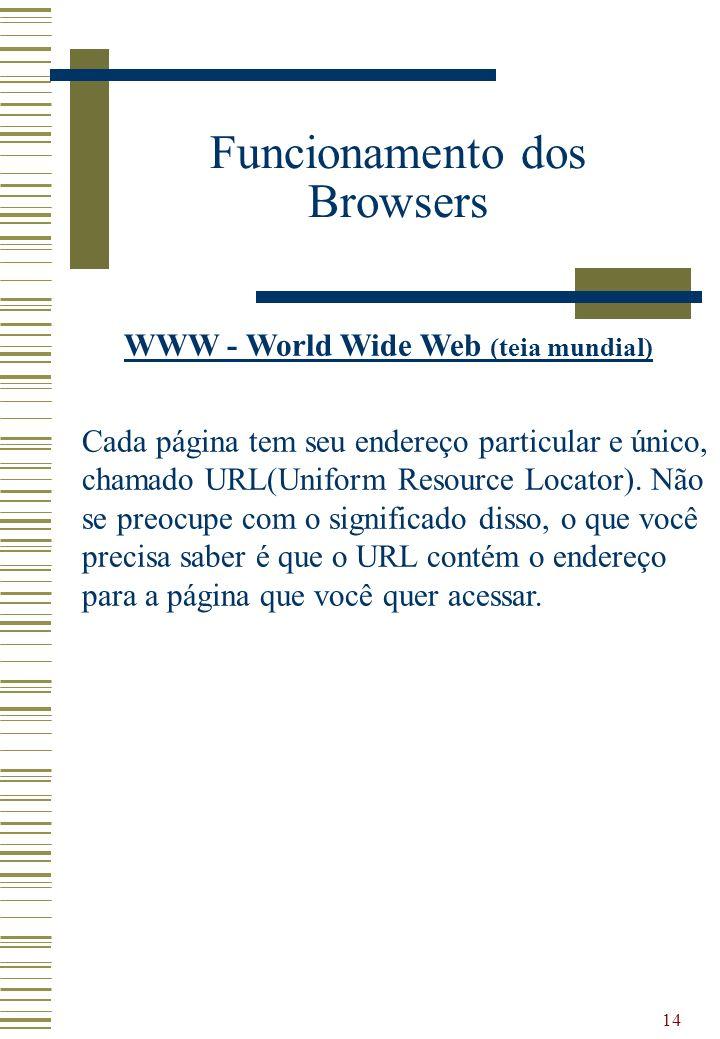 WWW - World Wide Web (teia mundial)