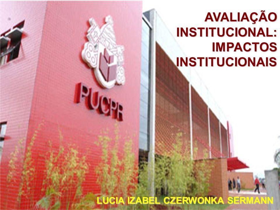 AVALIAÇÃO INSTITUCIONAL: IMPACTOS INSTITUCIONAIS