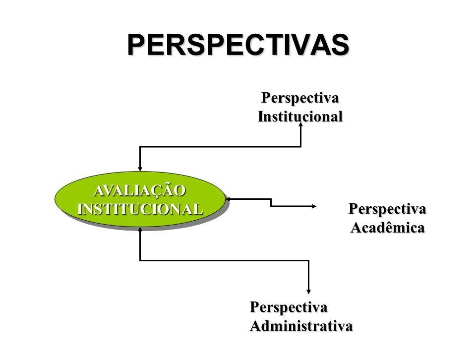 Perspectiva Institucional Perspectiva Acadêmica