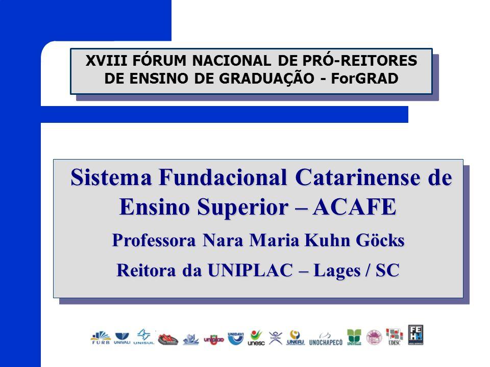 Sistema Fundacional Catarinense de Ensino Superior – ACAFE