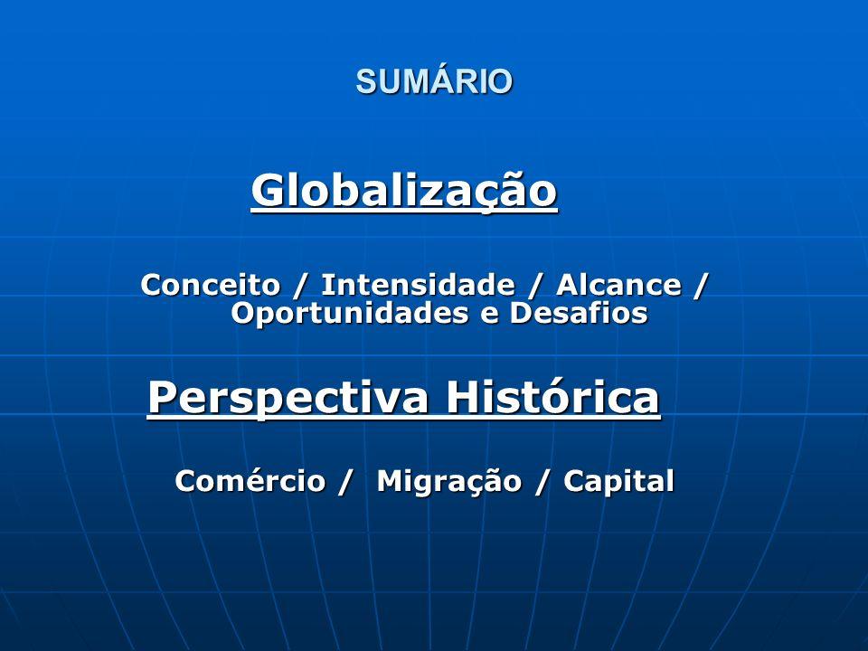 Globalização Perspectiva Histórica