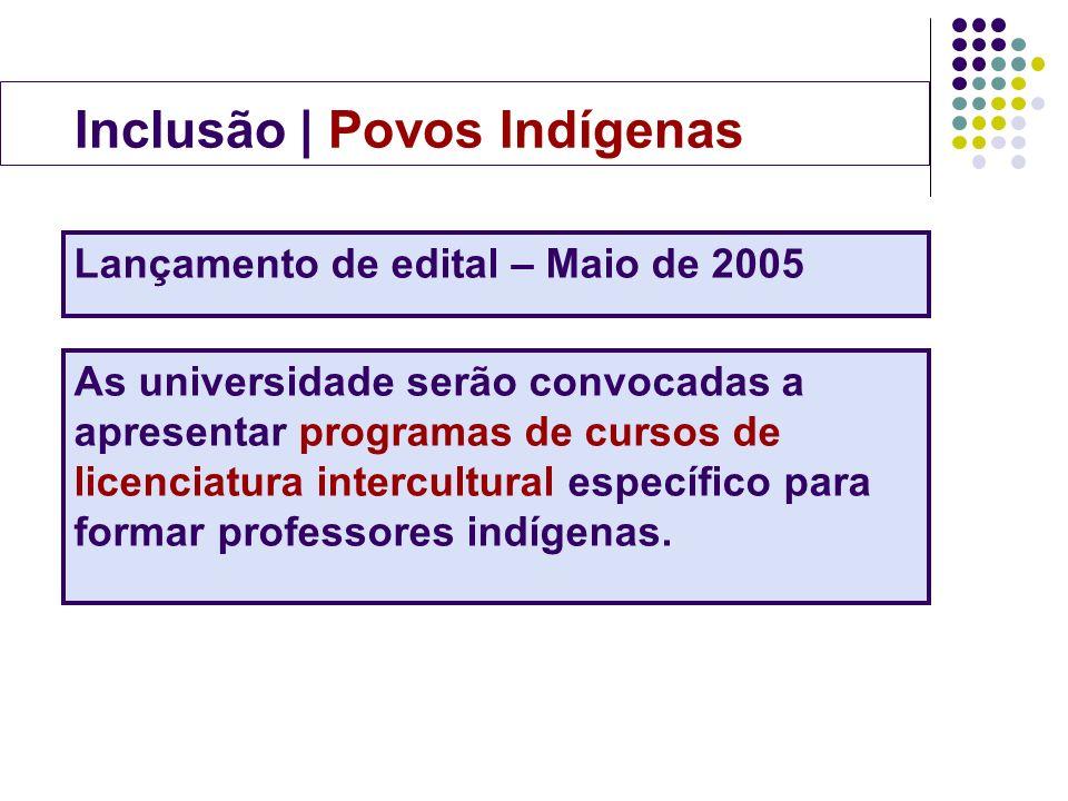 Inclusão | Povos Indígenas