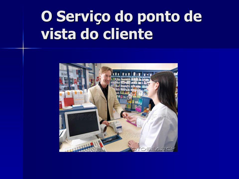 O Serviço do ponto de vista do cliente