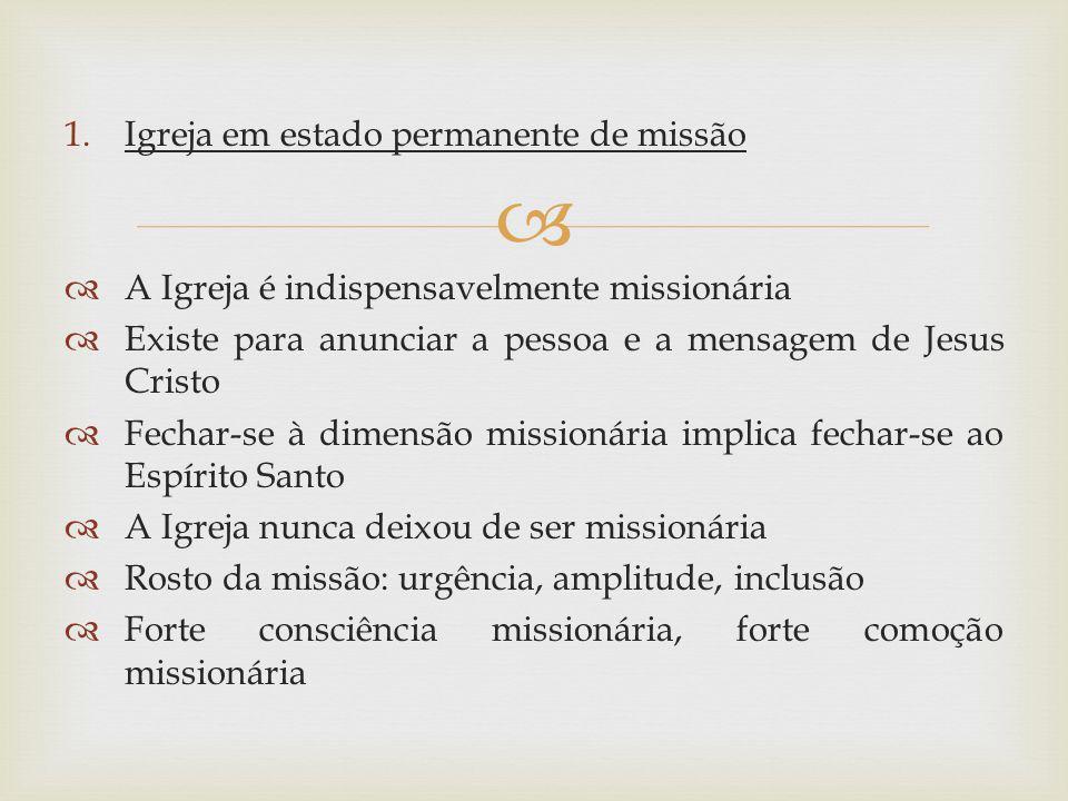 Igreja em estado permanente de missão