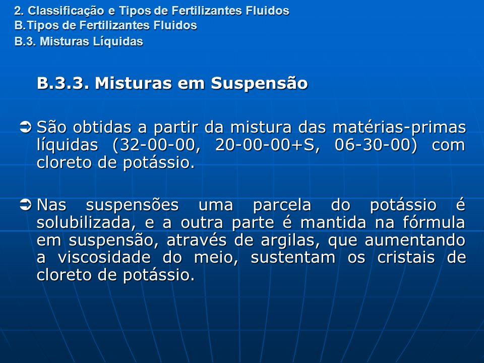 B.3.3. Misturas em Suspensão