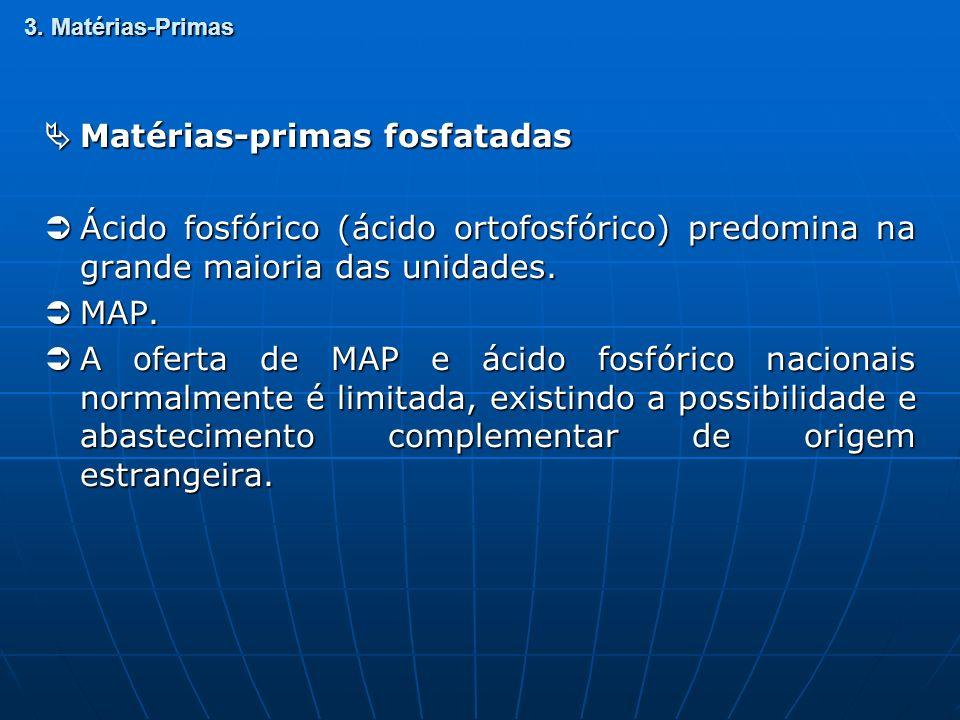  Matérias-primas fosfatadas